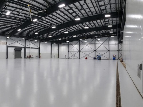 Cost Of Retroing Airplane Hangar Lighting With Led Lights