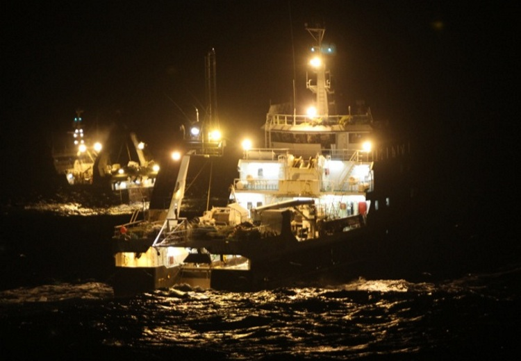 Fishing Boat Lighting For Commercial Trawlers And